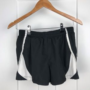 Nike small lined running shorts